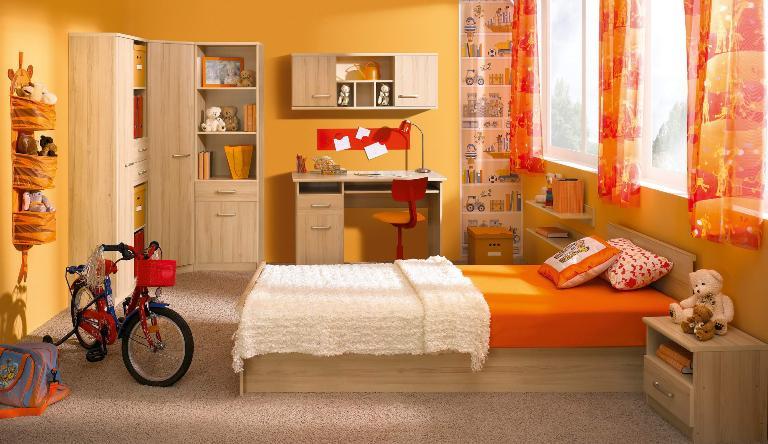 detska - oranzova