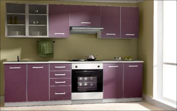 kuchyna - fialova