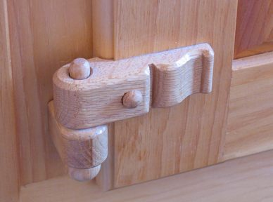 drevená zavesa