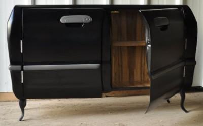 komoda a dvere z auta